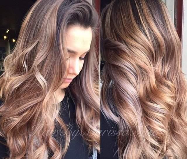 Karamel Saç Rengi Kataloğu Karamel Ombre Saç Boyası Numaraları
