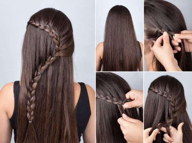 Günlük Pratik En Kolay Evde Yapılabilecek Saç Modelleri Yapılışları