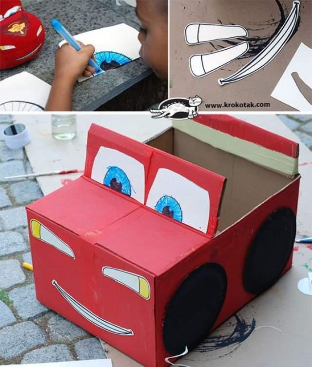 Karton Araba Maketi Karton Kutudan Araba Yapımı 2019