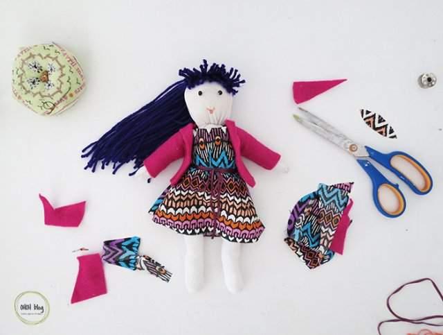 Kalın Çoraptan Bebek Yapımı Resimli Anlatım Çoraptan Bebek Modelleri