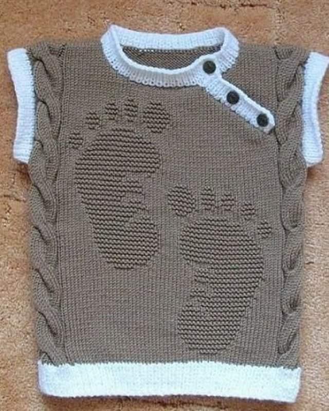 En Güzel Erkek Bebek Örgü Süveter Modelleri 2019