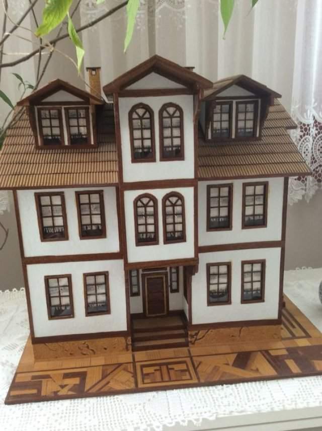 Ev Maketi Yapımı Örnekleri Modelleri 2019