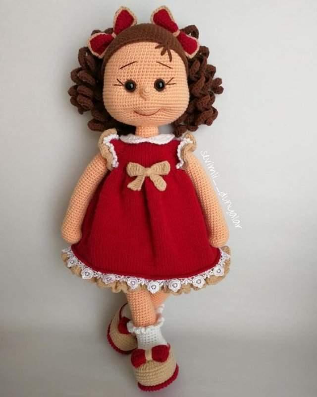 Amigurumi Bebek Elbisesi Yapılışı | Bebek elbisesi, Kroşe, Amigurumi | 800x640