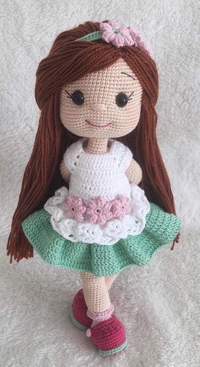 Amigurumi Bebek Elbise Yapımı | Baby knitting patterns, Bebekler ... | 1176x640