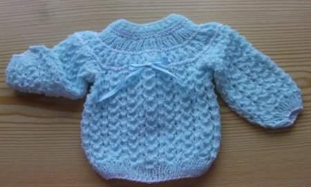 Erkek Ve Kız Bebekler İçin Kolay Ve Şık Örgü Kazak 2020