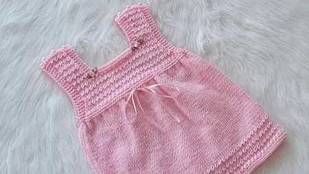 Kendiniz Örebileceğiniz 2 Yaş Örgü Bebek Elbiseleri 2020