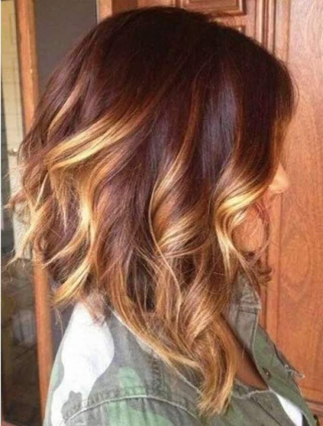 Esmerler İçin En Güzel Ombre Saç Renkleri 2020