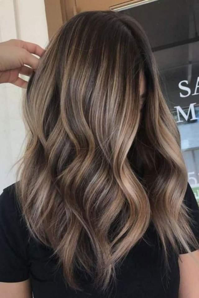 Koyu, Açık Küllü Kahve En Güzel  Saç Renkleri Örnekleri 2020