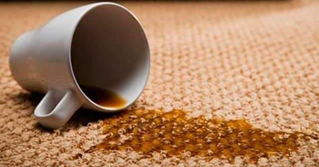 Kurumuş Çay Lekesi Halıdan Nasıl Çıkar? Halıya Çay Döküldü