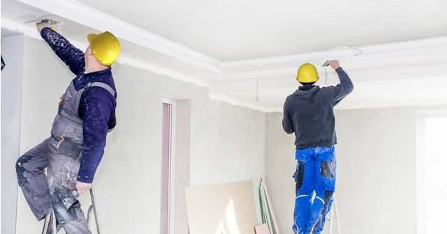 Tavan Boyası Nasıl Yapılır?  Tavan Boyamanın Püf Noktarı