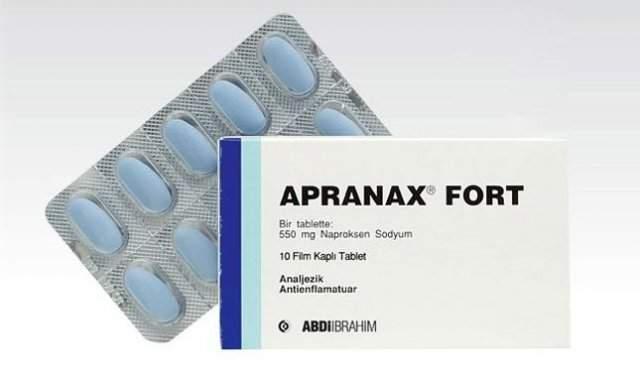 Apranax Fort Fiyatı Apranax Fort 550 mg Yan Etkileri