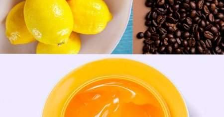 Kahve Bal Limon Maskesi Yapmak İçin Tarifler