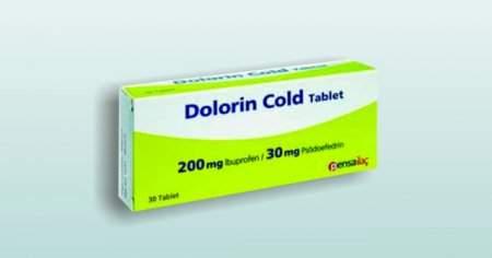 Dolorin Cold Tablet Fiyatı Nedir Dolorin Cold 200 mg Yan Etkileri