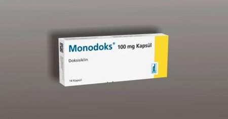 Monodoks Kapsül İlaç Tablet Antibiyotik Ne İşe Yarar Ne İçin Kullanılır