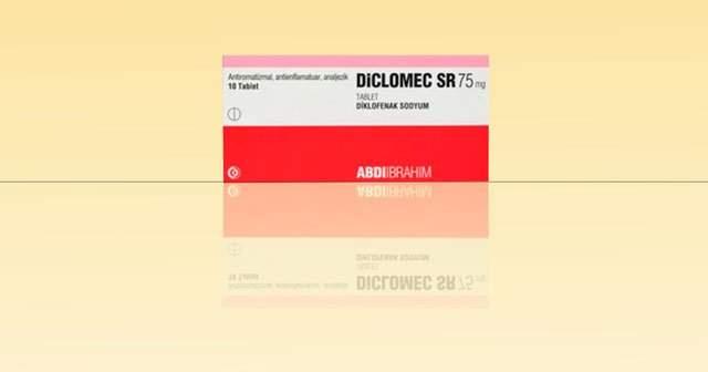 Diclomec SR 75 Nedir Diclomec Tablet Fiyatı Ne Kadar?