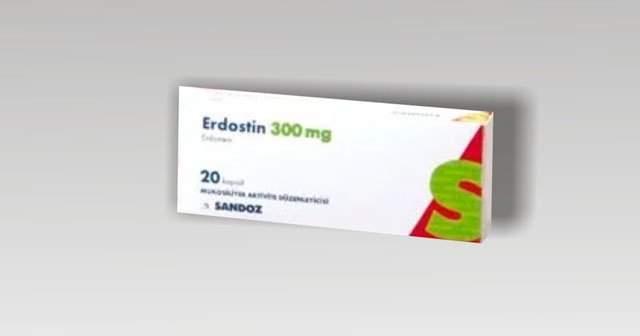 Erdostin (Erdostein)Tablet Yan Etkileri Ve Fiyatı Nedir?