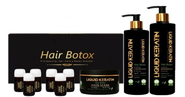 Liquid Keratin Saç Bakım Seti (Saç Botoksu) İle Yaşadığım Olağanüstü Deneyim