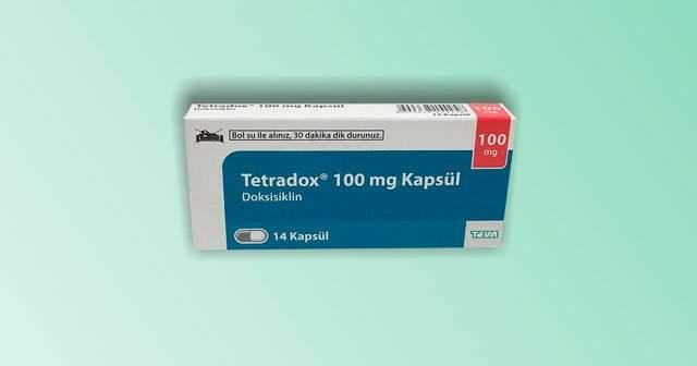 Tetradox 100 mg Kapsül İlaç Fiyat Ne, Yan Etkileri Neler?