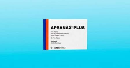 Apranax Plus 550 mg Nedir Diş Ağrısı İçin Kullanılır mı?