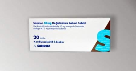 Saneloc 50 mg İlaç Fiyat Nedir Yan Etkileri Nelerdir?
