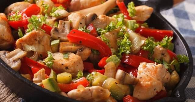 Mantarlı Tavuk Sote Kaç Kalori Eder?
