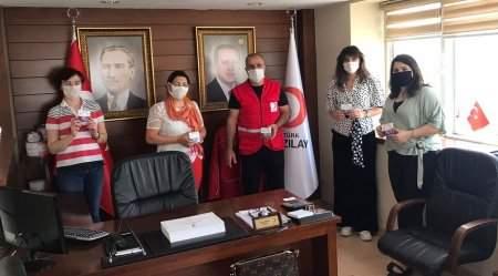 Aktident Diş Protezi Temizleme Tableti, Kızılay'la ücretsiz dağıtıldı