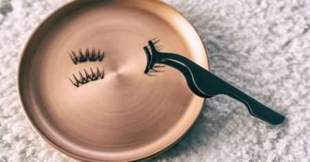 Evde Tekli Takma Kirpik, Kirpik Yapıştırıcısı Gözden Nasıl Çıkarılır