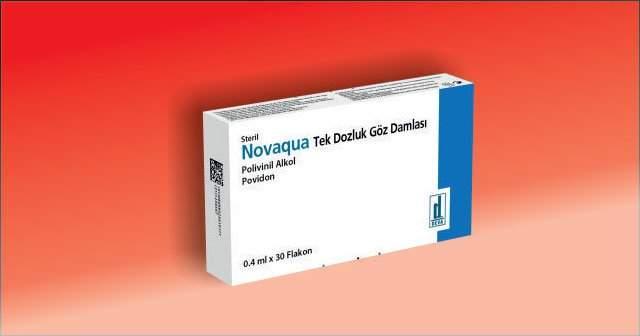 Novaqua Tek Kullanımlık Göz Damlası Fiyatı ve Yan Etkileri