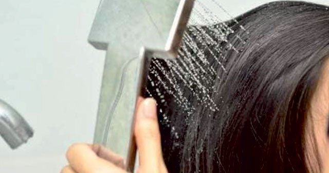 Boyalı Saçı Sabunla Yıkamak Beyaz Kalıp Sabunla Saç Yıkama