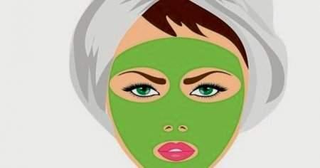 Siyah Noktalar ve Sivilceler İçin Yeşil Çay Maskesi Tarifleri