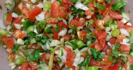 1 Yemek Kaşığı 1 Porsiyon Tabak Çoban Salata Kalorisi