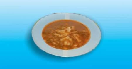 1 Kase Erişteli Mercimek Çorbasının Kalorisi Ne Kadar?